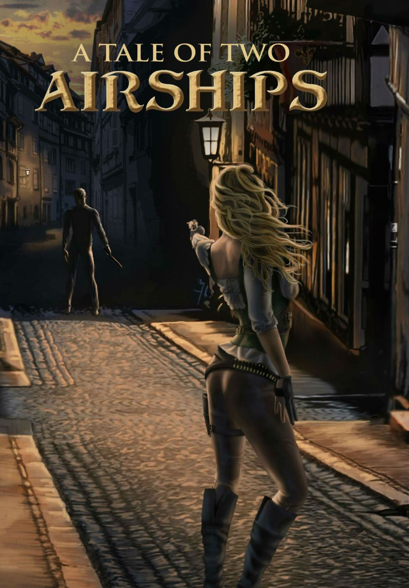 A Tale of Two Airships Cover